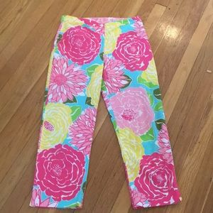Lilly Pulitzer Flower Capris
